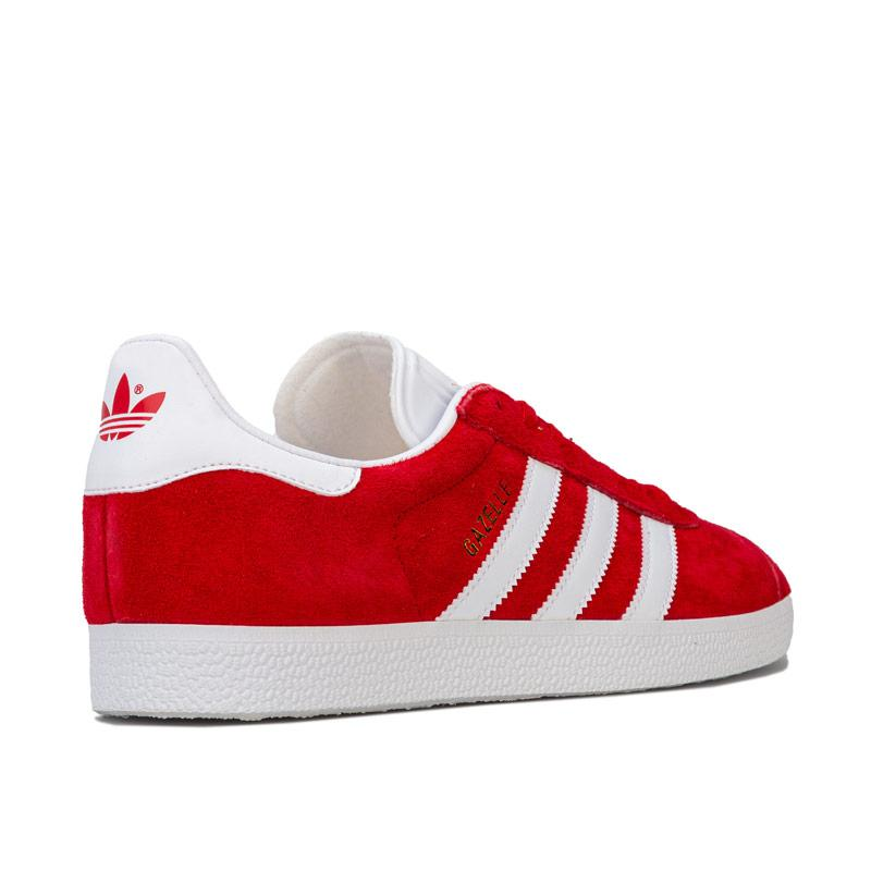 Boty Adidas Originals Mens Gazelle Trainers Red, Velikost: 8 (XS)