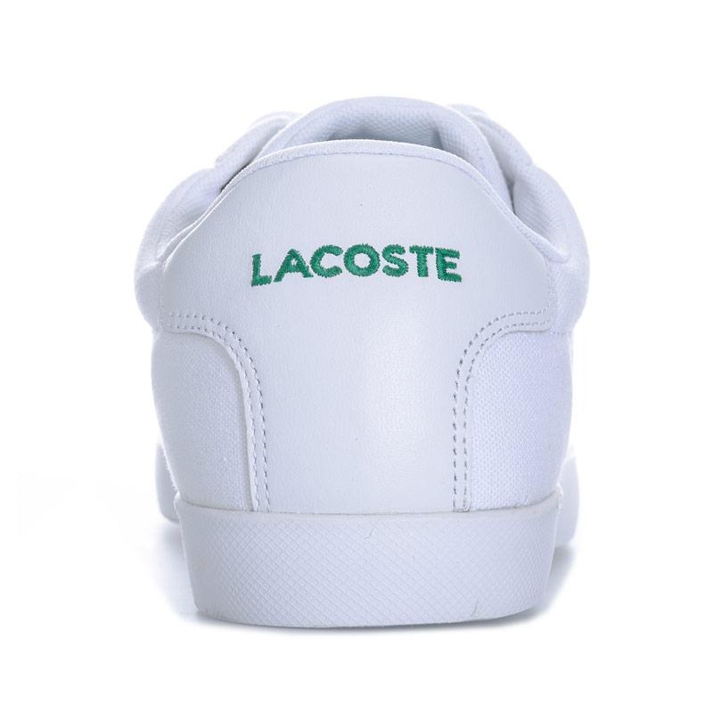 Boty Lacoste Mens Grad Pique Trainers White, Velikost: 8 (XS)