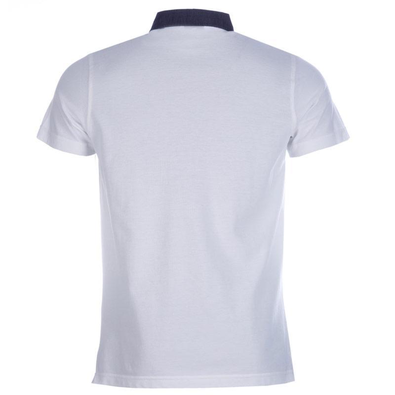 Diesel Mens T-Angie Clean Polo Shirt White