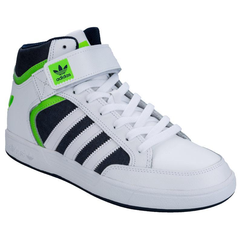Boty Adidas Originals Mens Varial Mid Trainers White, Velikost: UK11 (euro 46)