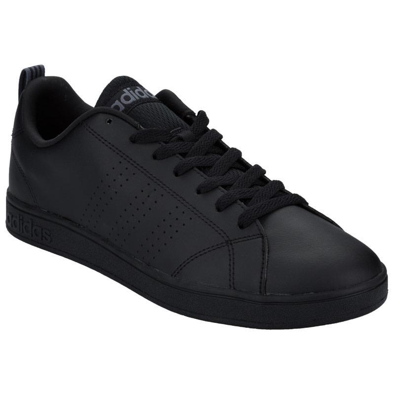 Boty Adidas Neo Mens VS Advantage Clean Trainers Black, Velikost: 8 (XS)