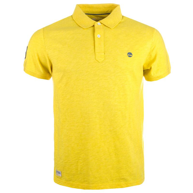 Timberland Mens Kennebec River Polo Shirt Yellow