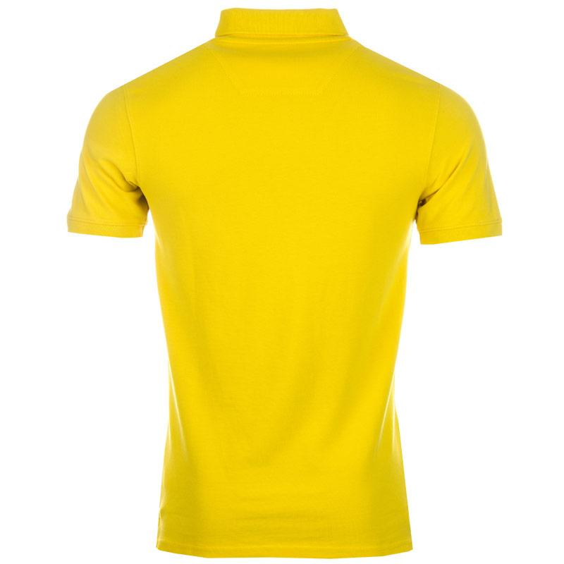 Timberland Mens Millers River Slim Fit Polo Shirt Yellow