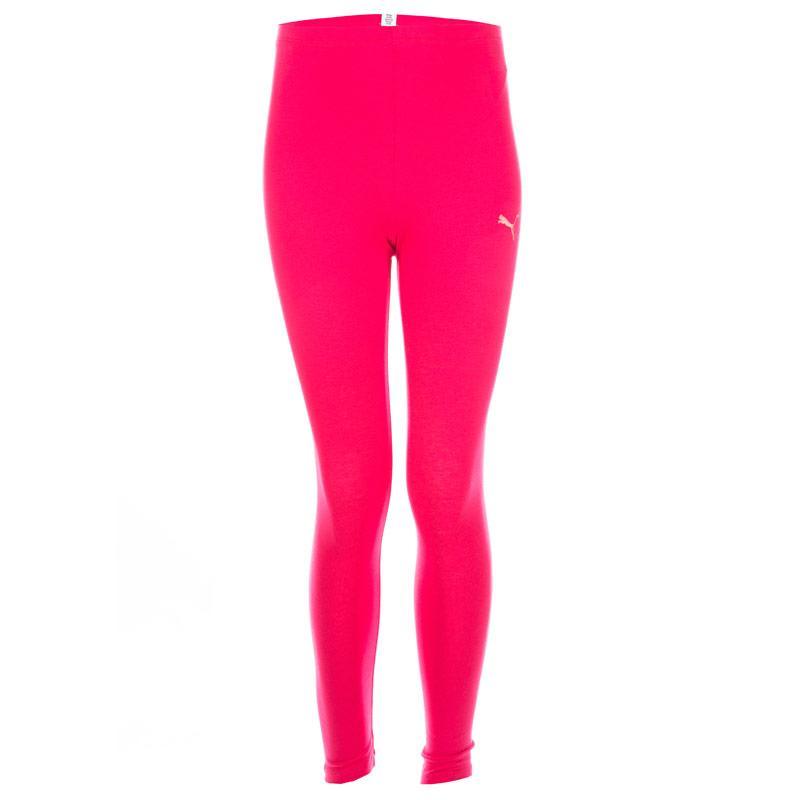 Puma Junior Girls Fun Print Leggings Pink