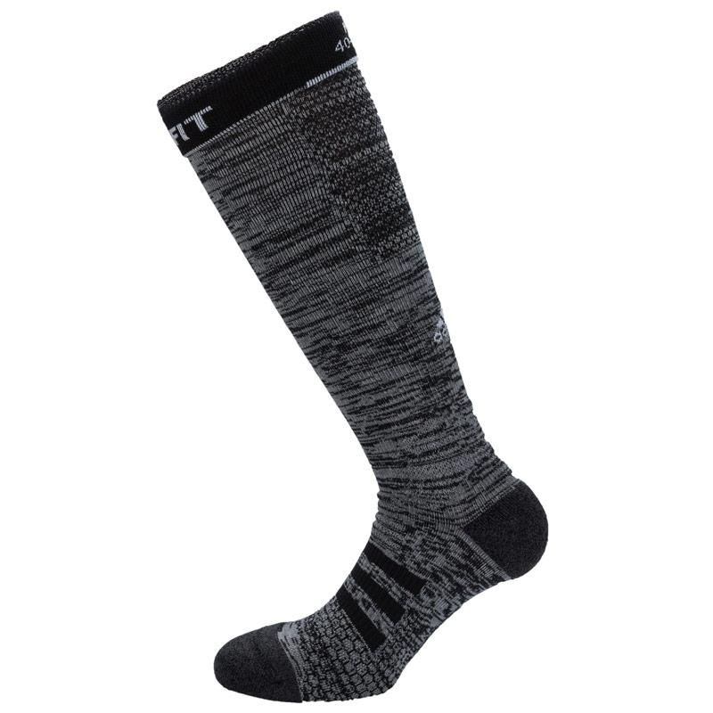 Ponožky Adidas Energy Compression Running Socks Medium Grey black
