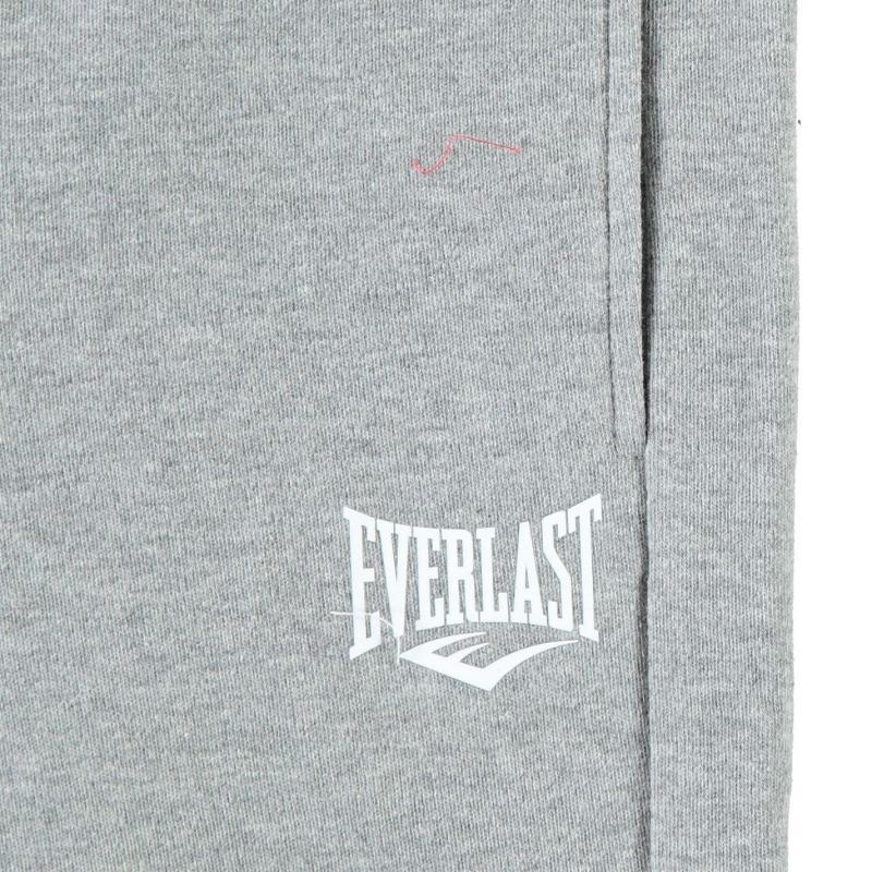 Everlast Closed Hem Logo Jogging Bottoms Junior Boys Grey Marl