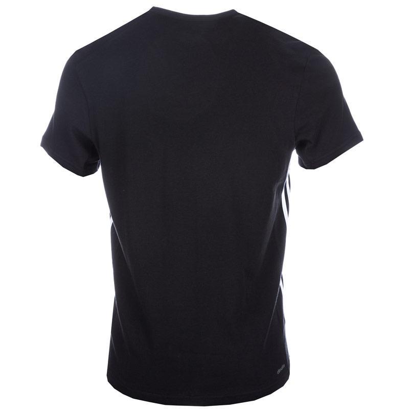 Tričko Adidas Mens Sport Essentials Mid T-Shirt Black, Velikost: S