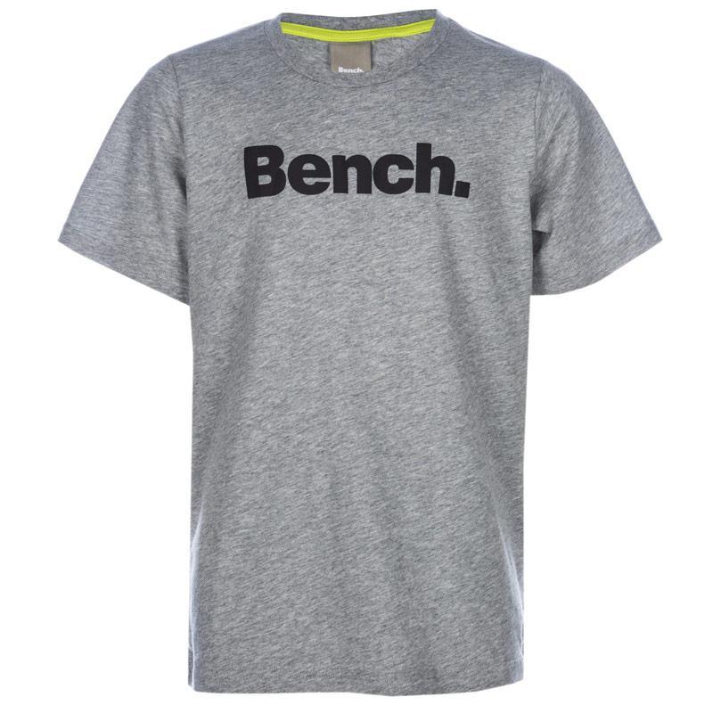 Tričko Bench Junior Boys Standard T-Shirt Grey