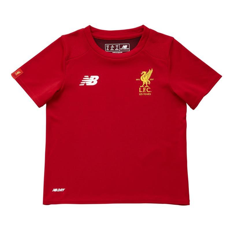 Tričko New Balance Liverpool Training Shirt Mens Red