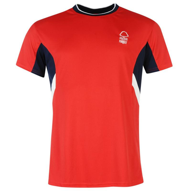 Tričko Source Lab Lab Nottingham Forest T Shirt Mens Red
