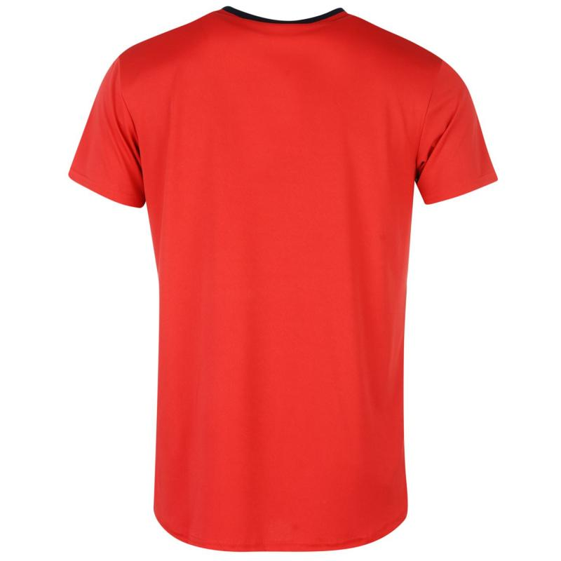 Tričko Source Lab Lab Sunderland Athletic FC T Shirt Mens Red