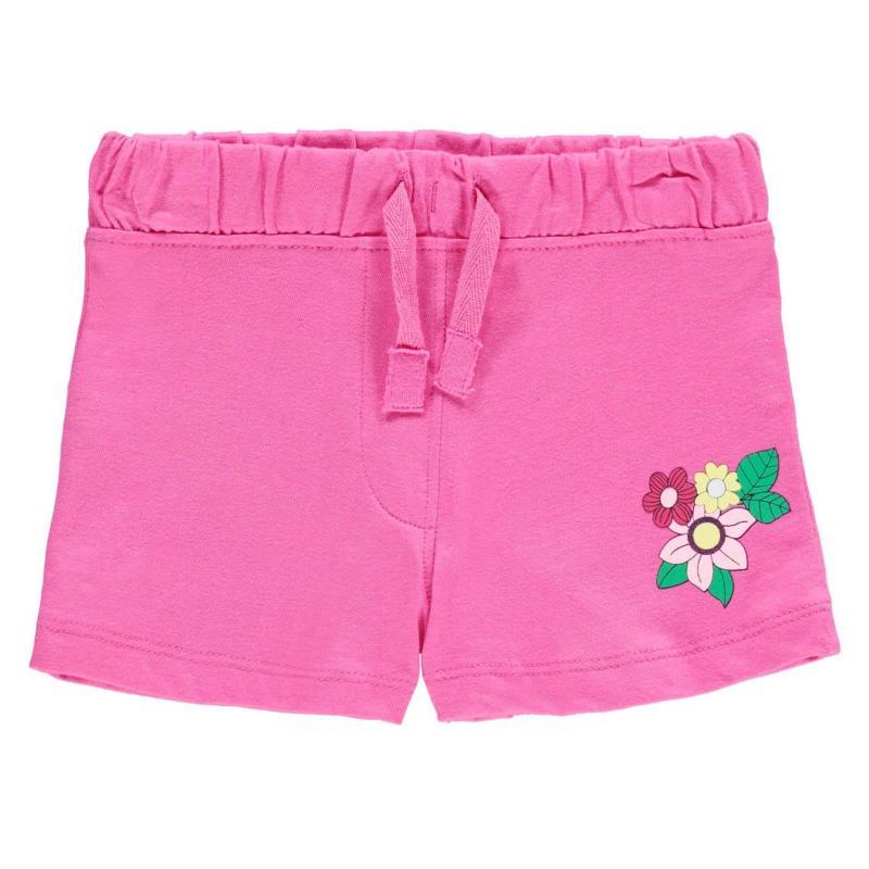 Crafted Shorts Infant Girls Azalia Pink