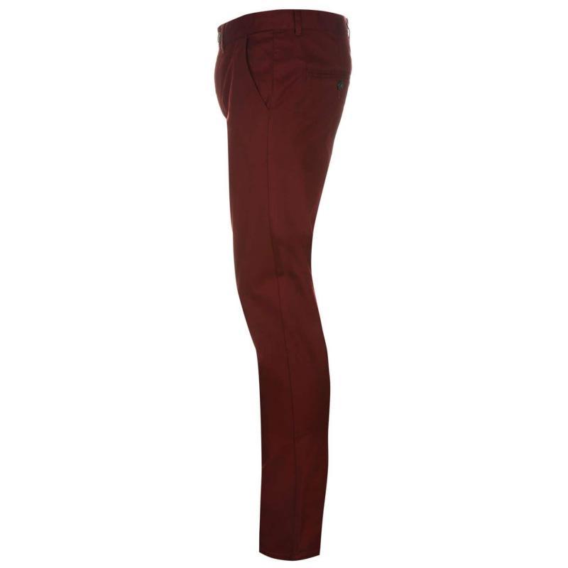 Kalhoty Pierre Cardin Slim Fit Trousers Mens Blue