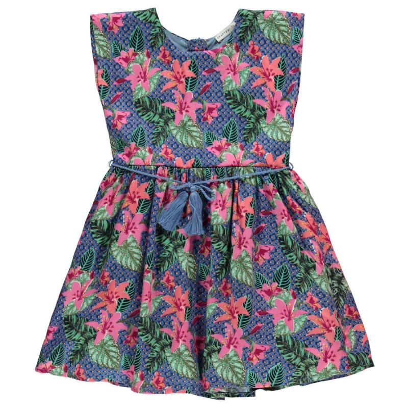 Šaty Crafted Floral Dress Child Girls Aop Floral