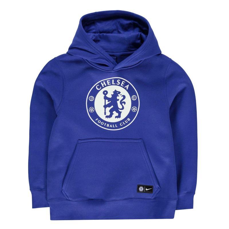Mikina Nike Chelsea Hoody Junior Blue
