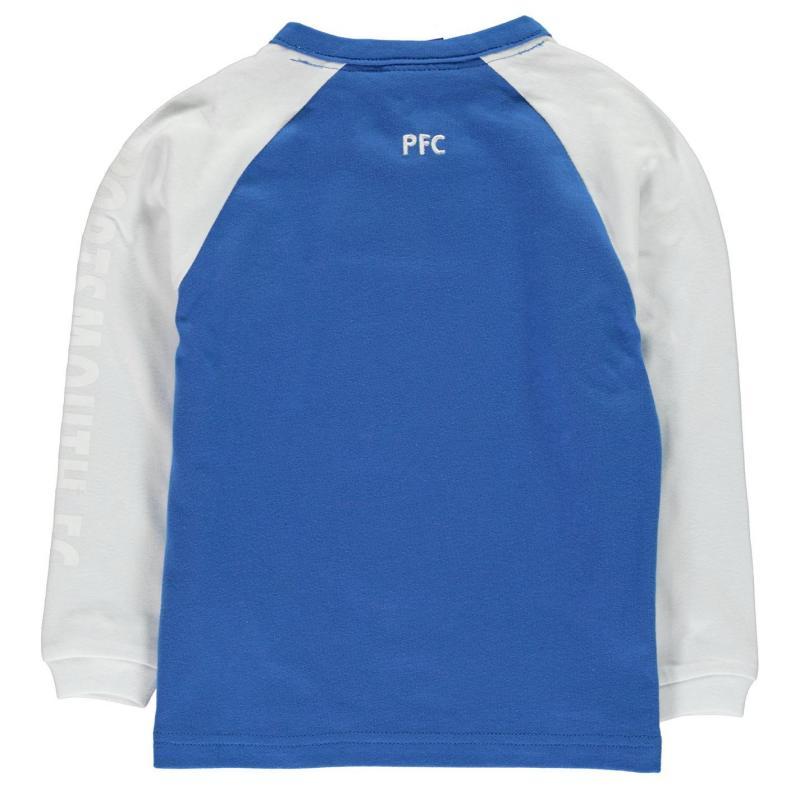 Tričko NUFC Long Sleeve T Shirt Infant Boys Black
