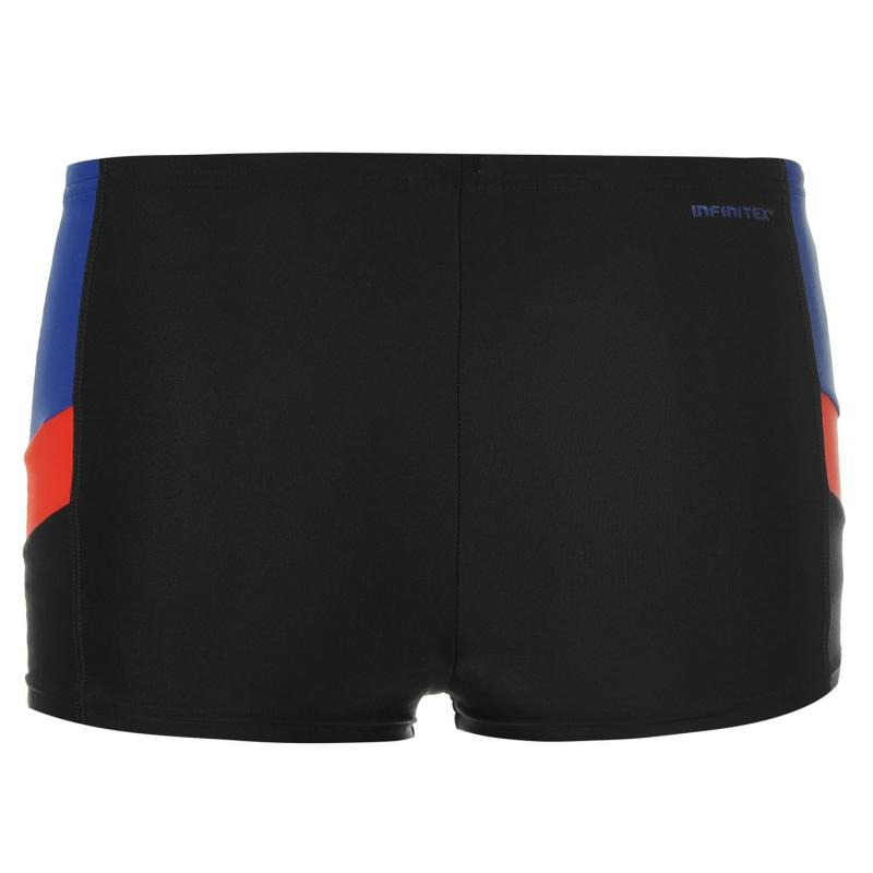 Plavky adidas Swimming Boxers Junior Ink/Blue/Blue