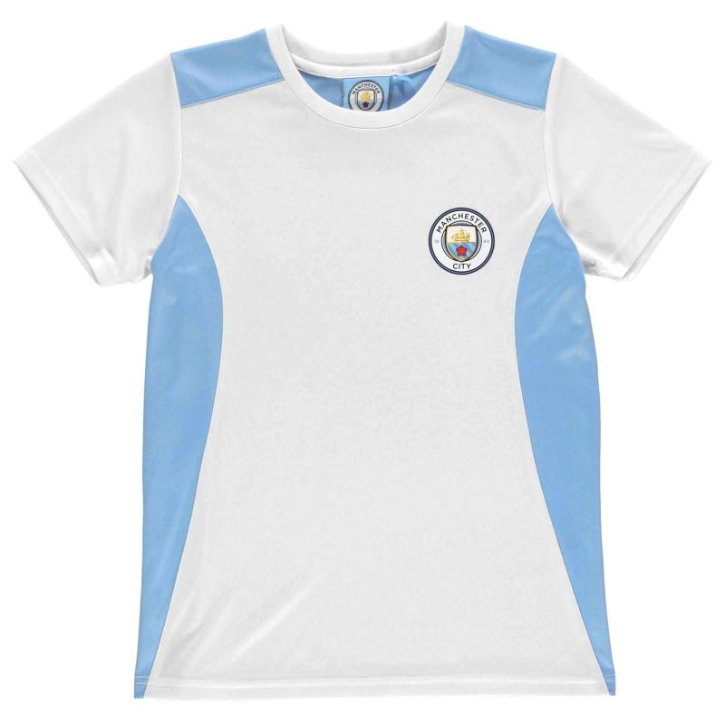 Tričko Source Lab Manchester City T Shirt Infant Boys Sky