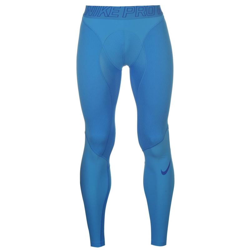 Nike Pro Hypercompression Tights Mens Blue