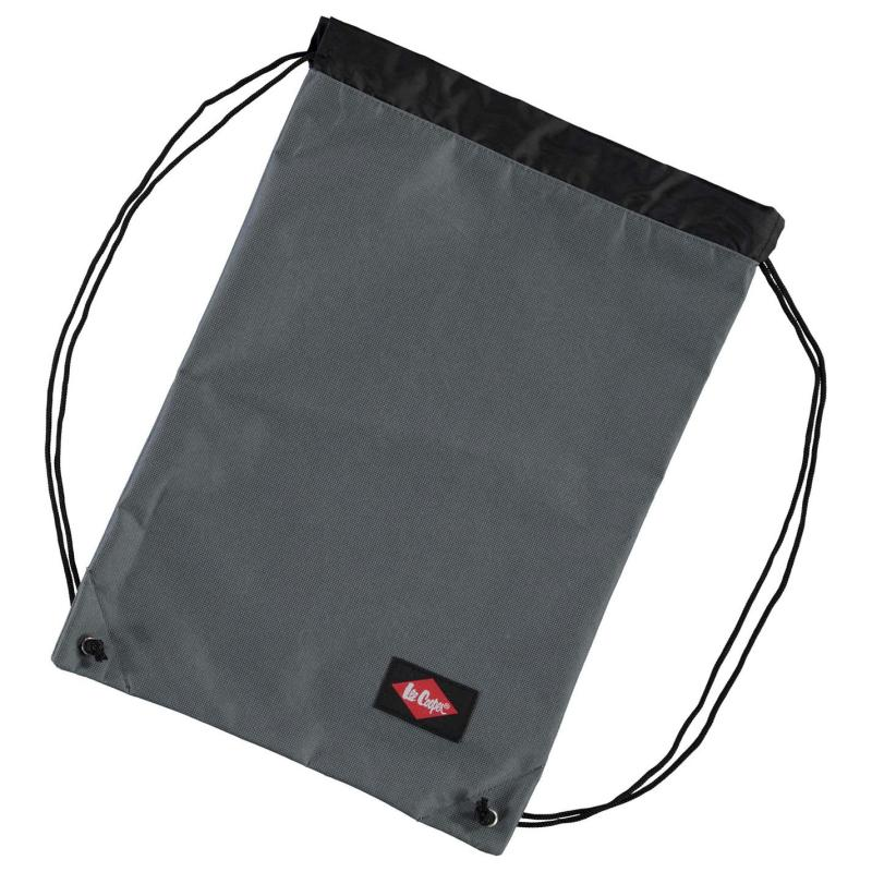 Lee Cooper Gym Sack Grey
