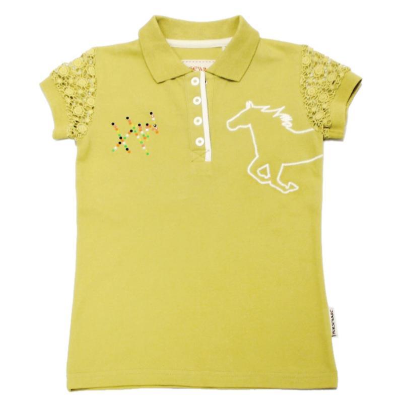Horseware Pique Polo Acacia Yellow