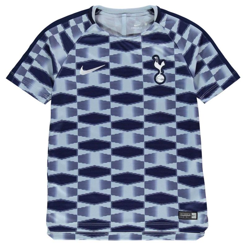 Tričko Nike Tottenham Hotspur Squad Training Shirt Junior Boys Blue/White