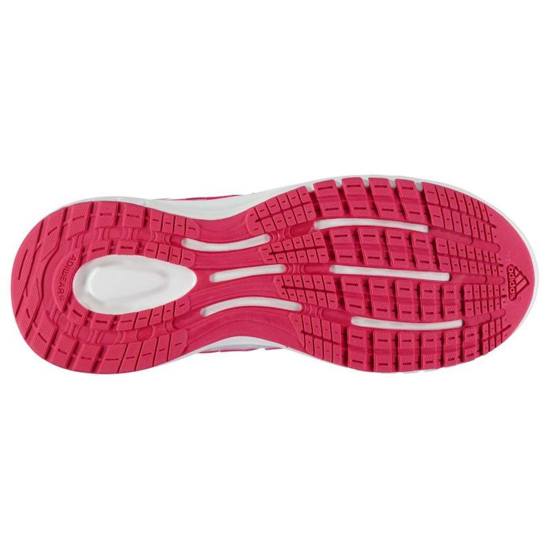 adidas Energy Cloud Running Trainers Junior Girls Grey/Pink