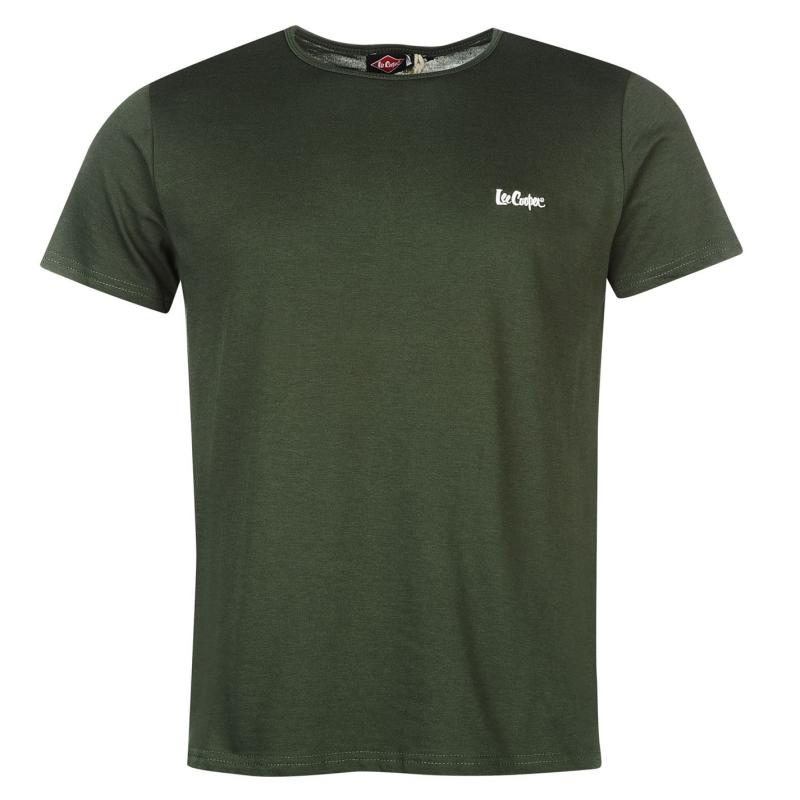 Tílko Lee Cooper C Casual Tee SnC99 Army Green