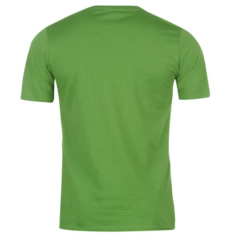Brooks Heritage Running T Shirt Mens Forest