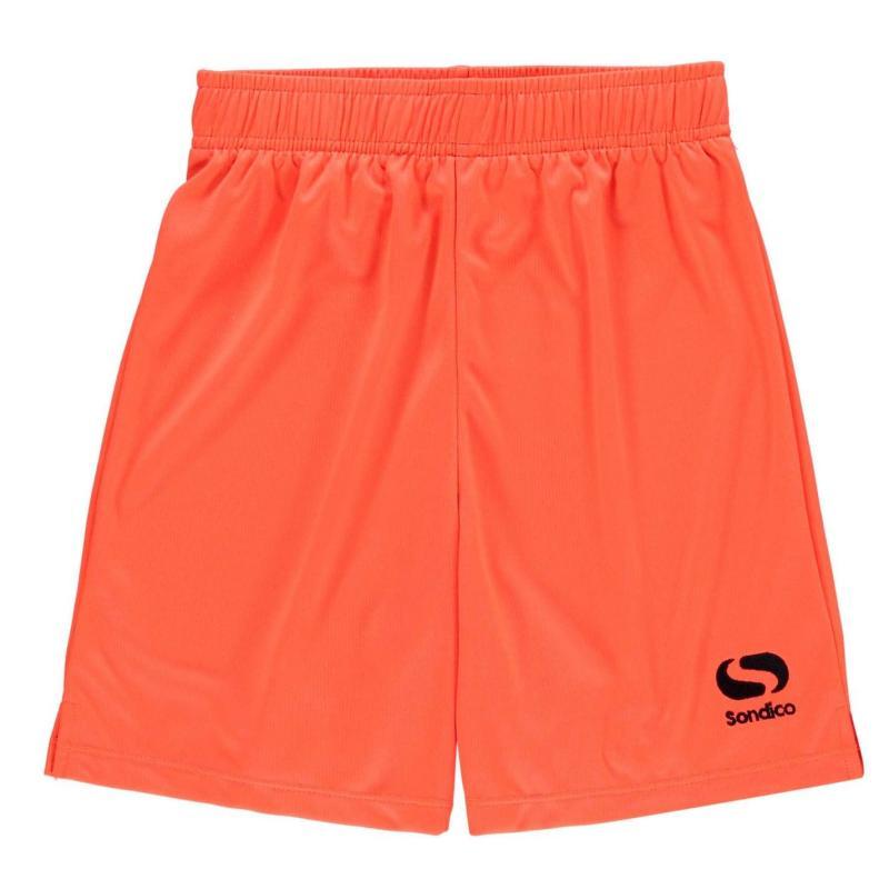 Kraťasy Sondico Core Football Shorts Junior Fluo Pink