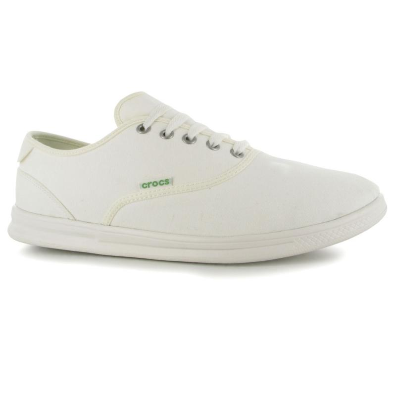 Crocs Lo Pro Canvas Mens Plimsolls White