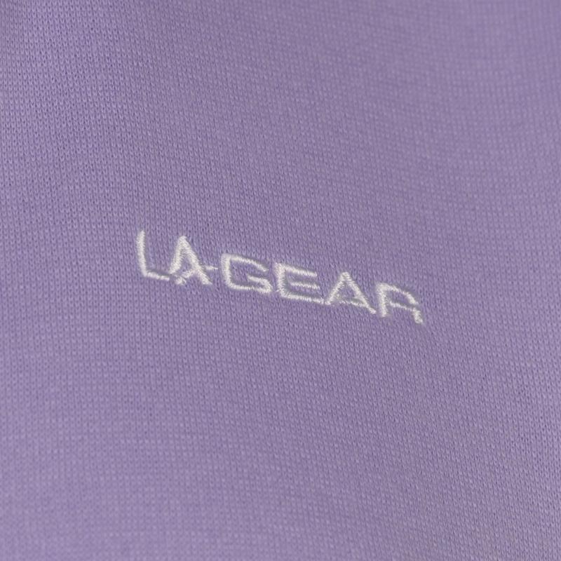 Mikina s kapucí LA Gear Full Zip Hoody Ladies Potent Purple