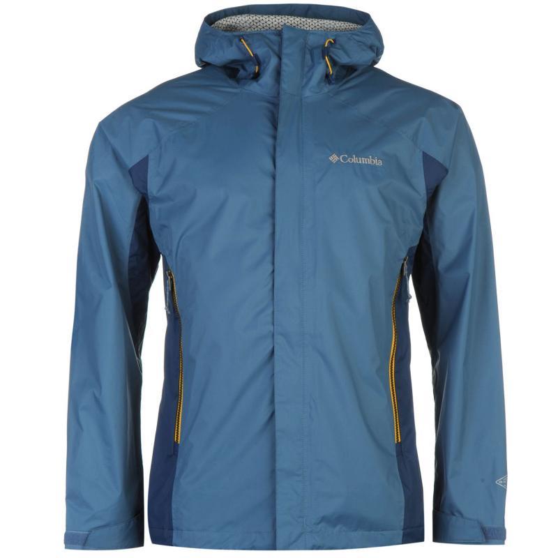 Columbia Rainstormer 2.5 Jacket Mens Petrol