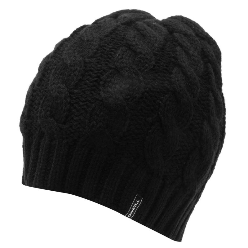ONeill Cable Beanie Womens Black