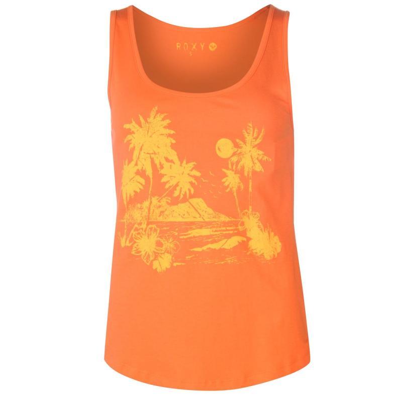 Roxy Ibiza Vibe Tank Top Ladies Orange