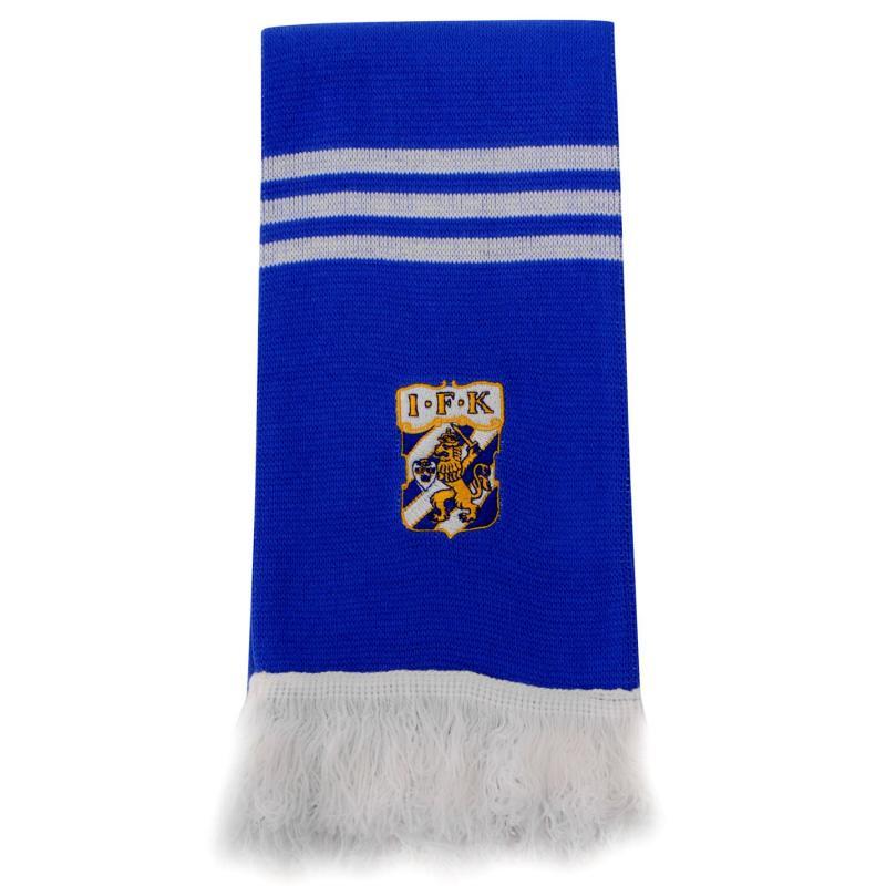 adidas IFK Goteborg 3 Stripe Scarf Blue