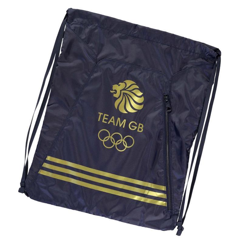 adidas Team GB Gymsack Navy