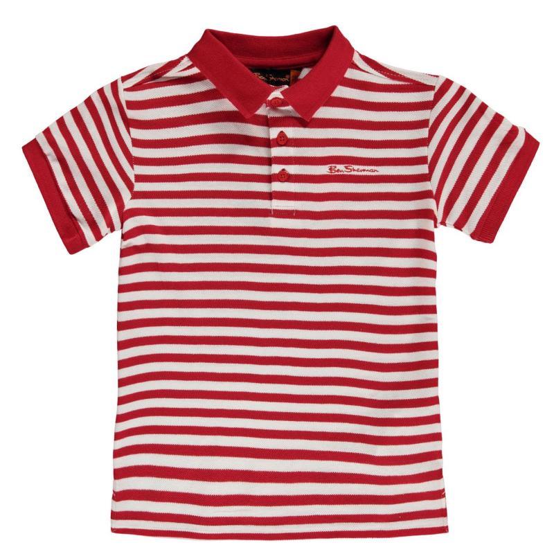 Ben Sherman 49T Junior Polo Shirt Red