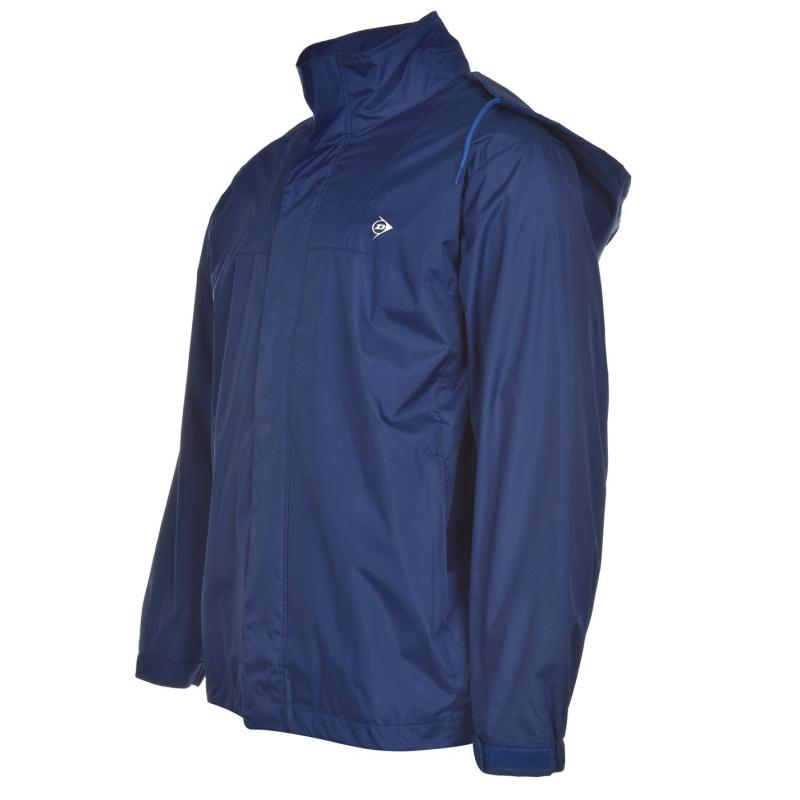 Bunda Dunlop Water Resistant Jacket Juniors Navy/Lime