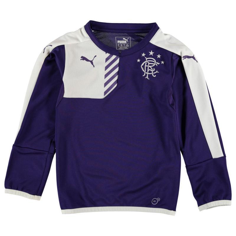 Mikina Puma Rangers Training Sweater Junior Boys Purple