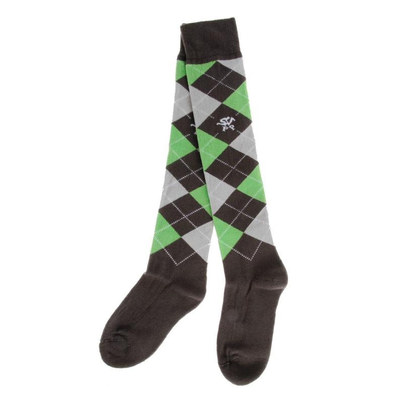 Ponožky Galoppo Socks Snr 53 grey/green