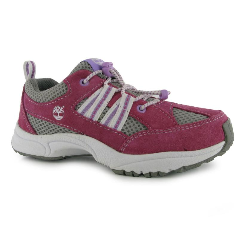 Boty Timberland Finder Childrens Trainers Pink
