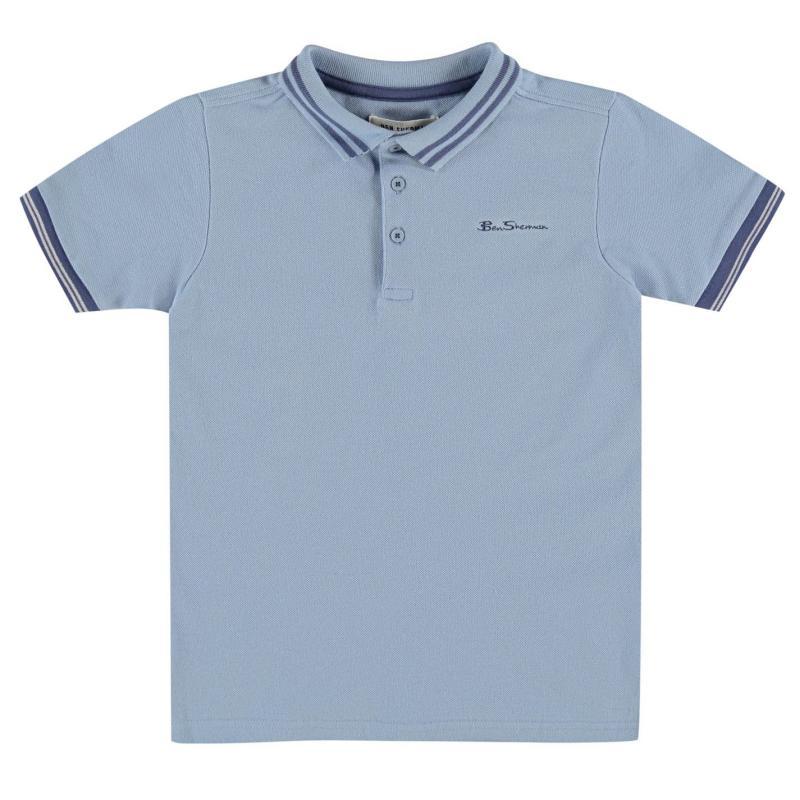 Ben Sherman 66V Polo Shirt Junior Boys Orange