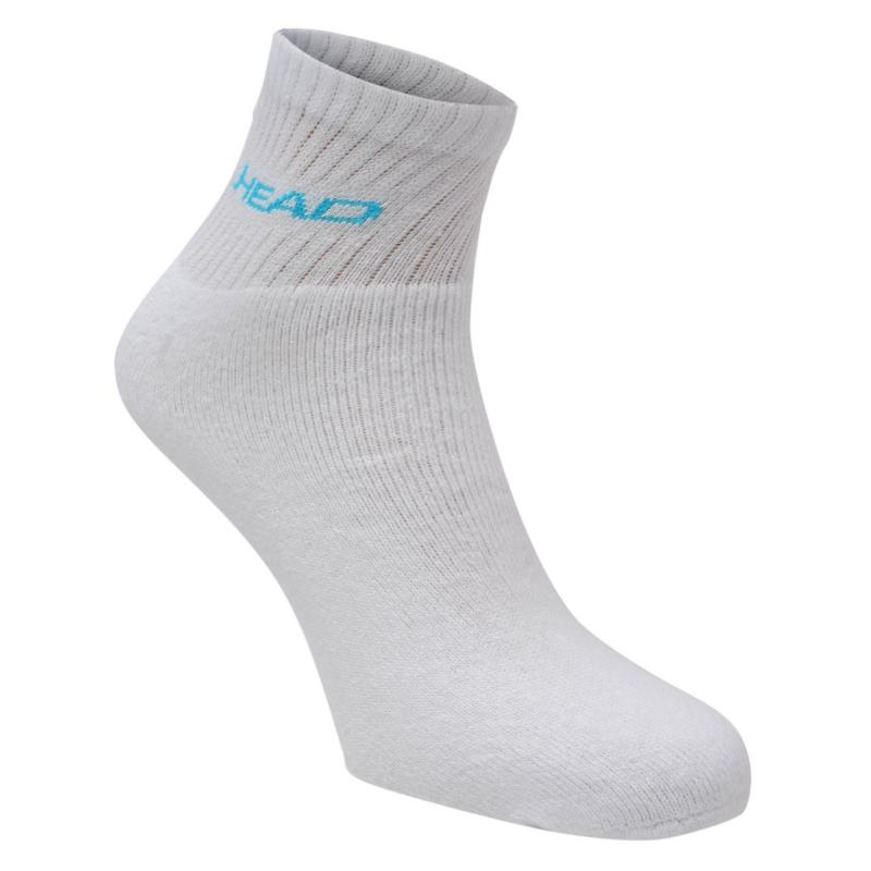 Ponožky HEAD Short Crew Socks 3 Pack Blue