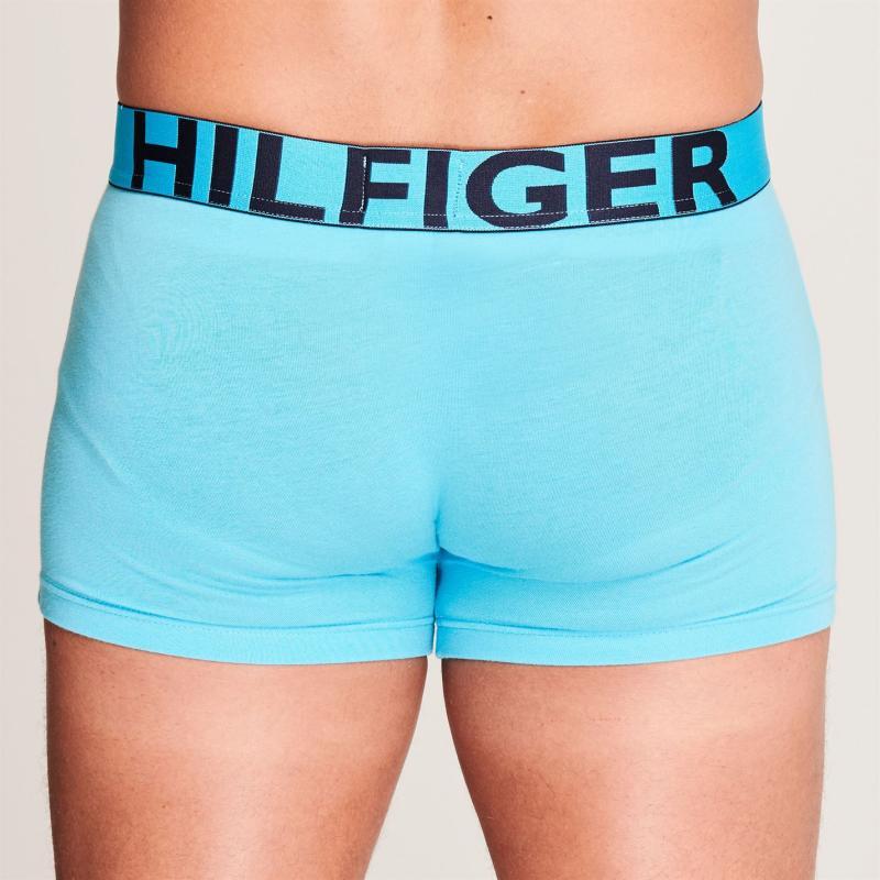 Pyžamo Tommy Hilfiger Contrast Trunks Grey