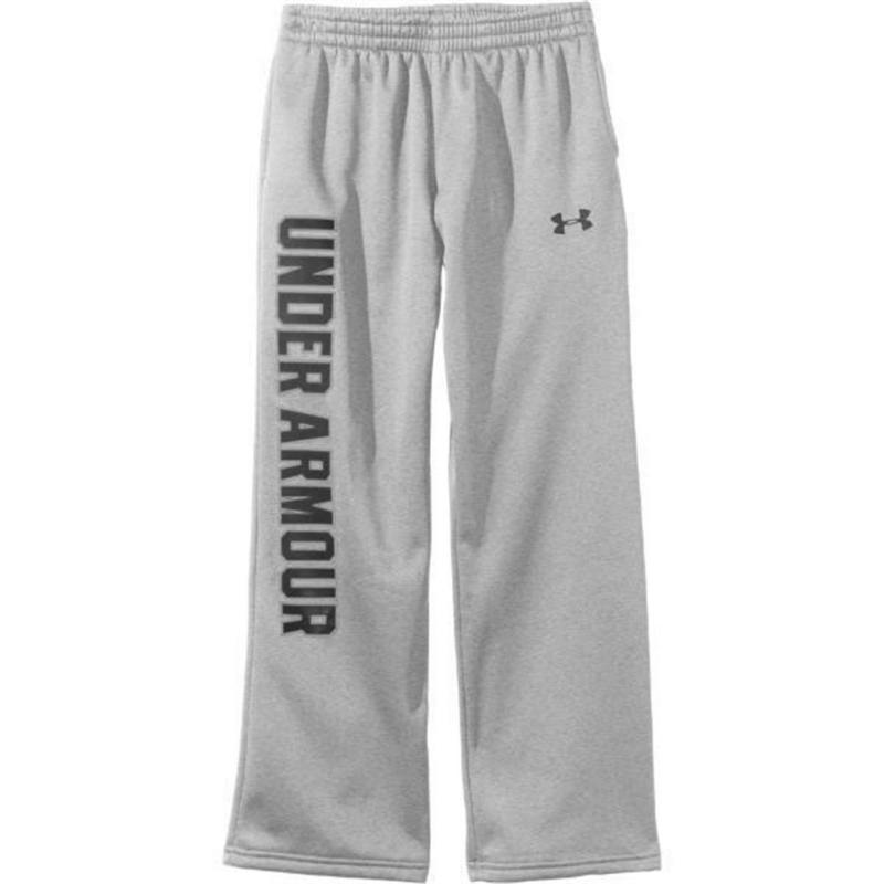 Tepláky Under Armour Storm Sweatpants Junior Boys Grey/Black