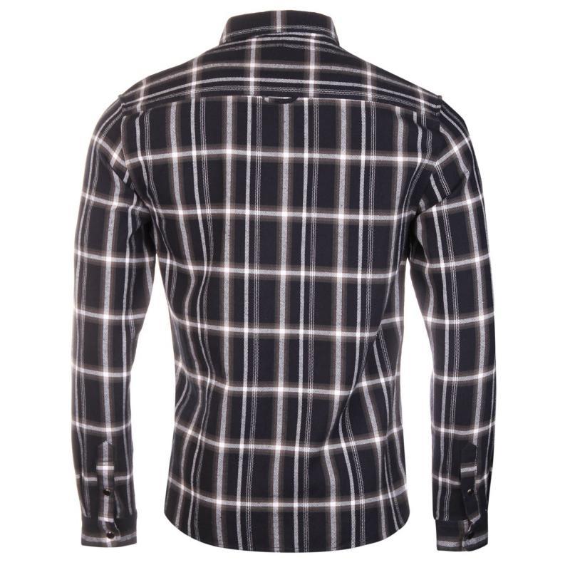 Košile Firetrap Cale Shirt Mens Dark Navy