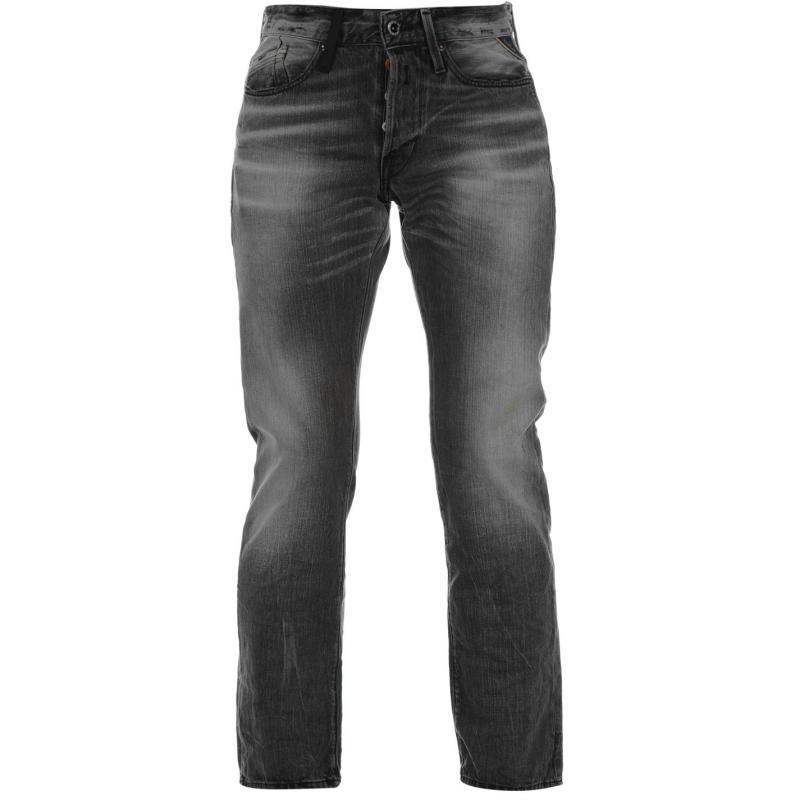 Replay Waitom Jeans Mens grey 010