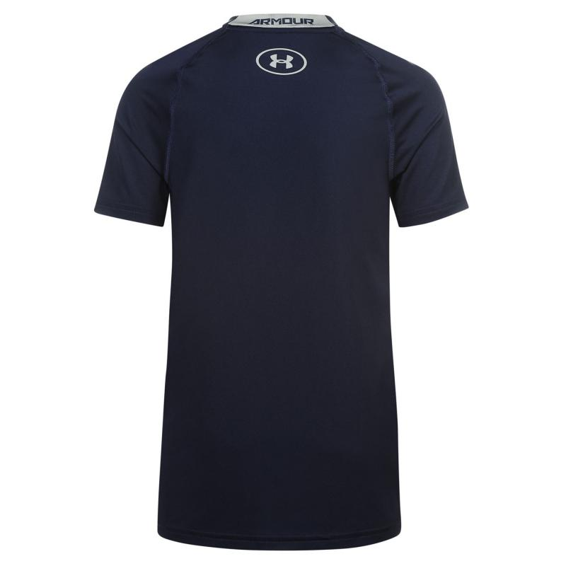 Under Armour Short Sleeve T Shirt Junior Boys Black