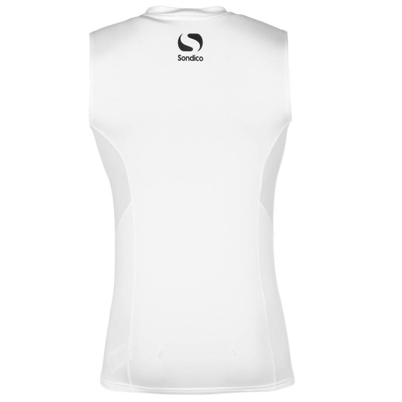 Sondico Base Layer Vest Mens White